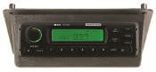 701190 - John Deere 30 & 40 Series AM/FM/WB Radio In Black Bezel