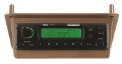 701191 - John Deere 50 Series AM/FM/WB Radio In Brown Bezel